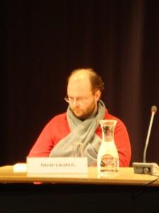 G.István László felolvasás Karlsruhe